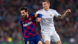 Toni Kroos provoca Messi