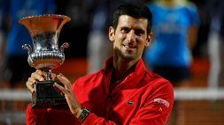 Le foto del trionfo di Djokovic a Roma