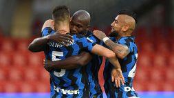 Le foto di Benevento-Inter 2-5
