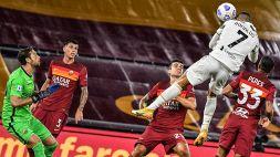 """Roma-Juve, Dzeko a Di Bello: """"Sempre così con loro..."""""""