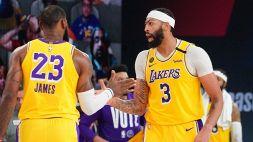 NBA: i Lakers volano in finale, LeBron James da urlo
