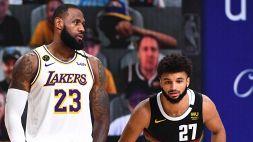 NBA, i Nuggets riaprono la serie con i Lakers