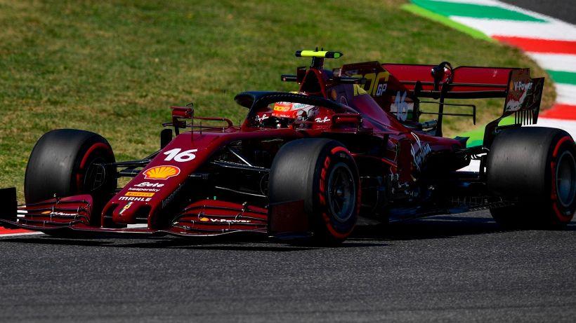 F1, libere Gp Mugello: la Ferrari cambia colore e rialza la testa