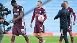 Manchester City-Leicester 2-5: Batosta per Guardiola, Vardy fa tripletta