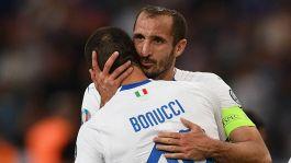 """Bonucci su Chiellini: """"Tra i migliori cinque al mondo"""""""