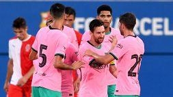 Il ritorno di Messi: primi goal nell'era Koeman