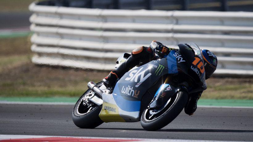 Moto2, la pole è di Marini