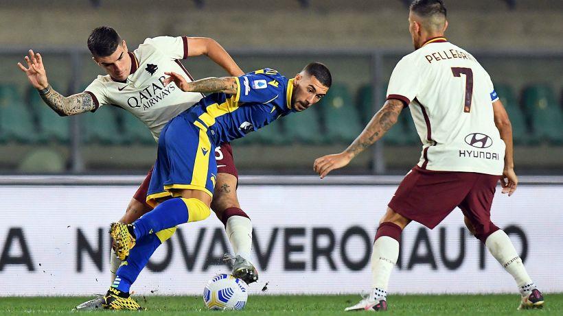 La Roma si schianta contro il Verona: 0-0 per Fonseca senza Dzeko