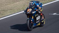 Moto2: tripletta italiana, vince Luca Marini