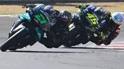MotoGp, Misano: gioia Morbidelli, Valentino Rossi beffato e giù dal podio