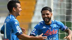 Napoli, Mertens e Insigne stendono il Parma. Osimhen spacca la partita