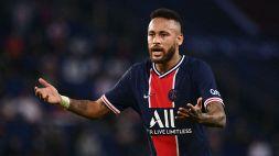 """PSG in sostegno di Neymar: """"No al razzismo"""""""