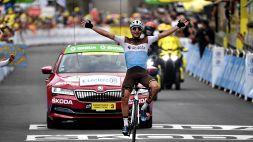 Tour: sui Pirenei vince Peters. Crolla Fabio Aru