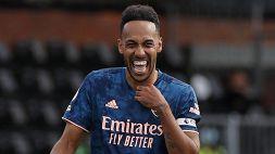 Aubameyang e l'Arsenal vanno avanti insieme