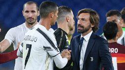 Juventus, Pirlo stupito da Ronaldo: il messaggio di CR7
