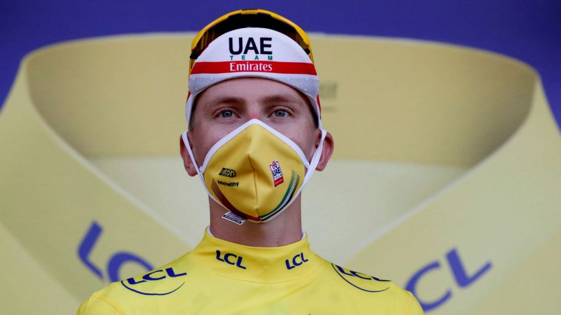 Sorpresona al Tour: crolla Roglic, Pogacar in giallo
