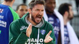 """Sassari, Pozzecco: """"Andiamo a Milano per vincere"""""""