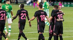 Real Madrid ok a fatica: 3-2 col Betis