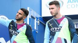 Manchester City, Mahrez e Laporte positivi al coronavirus