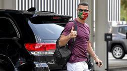 Ronaldo e un dito che lo fa penare