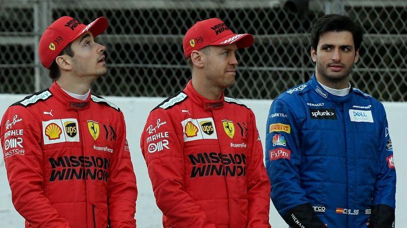 F1: Ferrari, crisi senza fine. Leclerc non si pente, Sainz preoccupato
