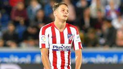 Roma su Arias, l'Atletico Madrid conferma