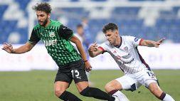 Bourabia risponde a Simeone: pari tra Sassuolo e Cagliari
