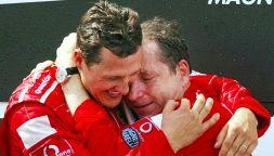Il presente di Michael Schumacher, a sei anni e mezzo da Meribel