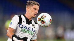 Udinese, Stryger-Larsen operato: i tempi di recupero