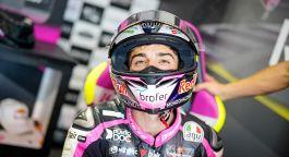 Moto3, Fernandez in pole. Male Arbolino