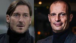 Mercato Roma, nuove indiscrezioni su Totti e Max Allegri