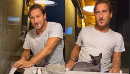 """Totti, tenero annuncio di Ilary Blasi: """"C'è una donna incinta"""""""