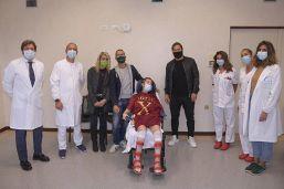 Ilenia Matilli con Francesco Totti: l'emozione della calciatrice