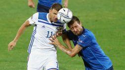 Uefa Nations League: Italia-Bosnia 1-1
