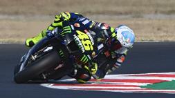 MotoGp, il warm-up non soddisfa Valentino Rossi