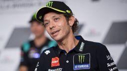 MotoGp, le parole di Valentino Rossi dopo il warm-up