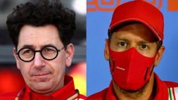 F1, Ferrari: Vettel-Binotto, tensione alle stelle e frecciate al veleno