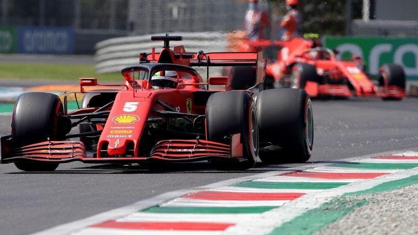 F1, Ferrari umiliata a Monza: Vettel e Leclerc eliminati, pole Hamilton
