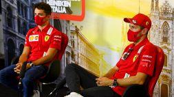 F1: Ferrari, giudizi duri di Vettel e Leclerc dopo il venerdì di Monza
