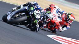 MotoGp, Misano: Bagnaia si butta via, vince Viñales. Valentino Rossi ko