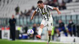 Juventus: contro la Dynamo Kiev out Alex Sandro, ma c'è Ramsey