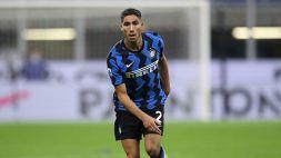 Champions, Inter: Hakimi sotto attacco, Antonio Conte è categorico