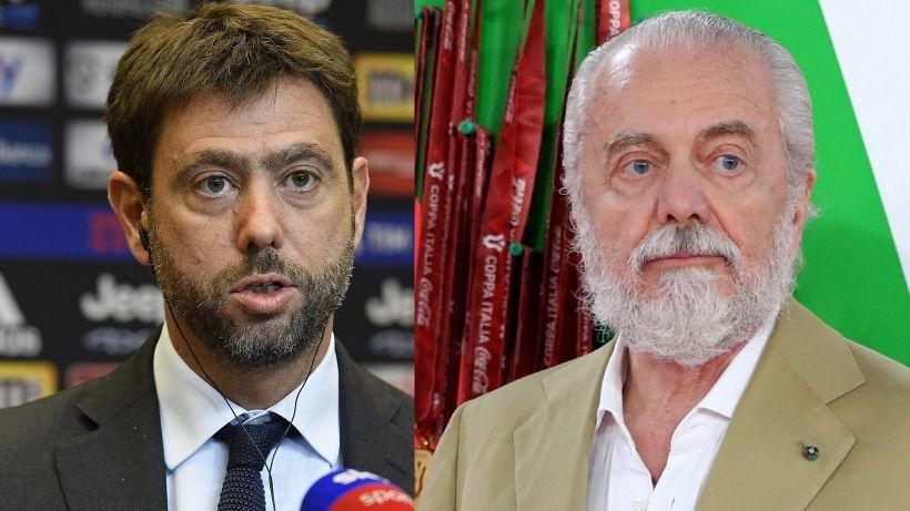 Juventus-Napoli, Aurelio De Laurentiis pronto a tutto