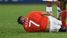 Inter, infortunio muscolare per Sanchez