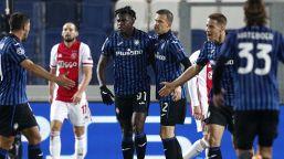 Champions, Zapata salva l'Atalanta: Ajax rimontato