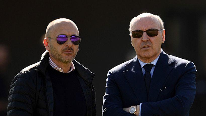 """Inter, i tifosi rimproverano Marotta: """"Adesso che si fa?"""""""