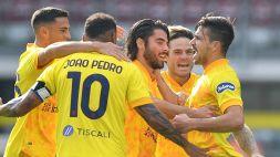 Belotti non basta al Torino: il Cagliari vince 2-3