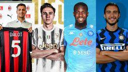 Calciomercato: ultimi colpi di Juve, Inter, Roma, Napoli e Milan