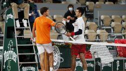 Roland Garros, Carreno accusa Djokovic