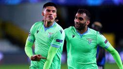 Champions League: Le foto di Brugge-Lazio 1-1